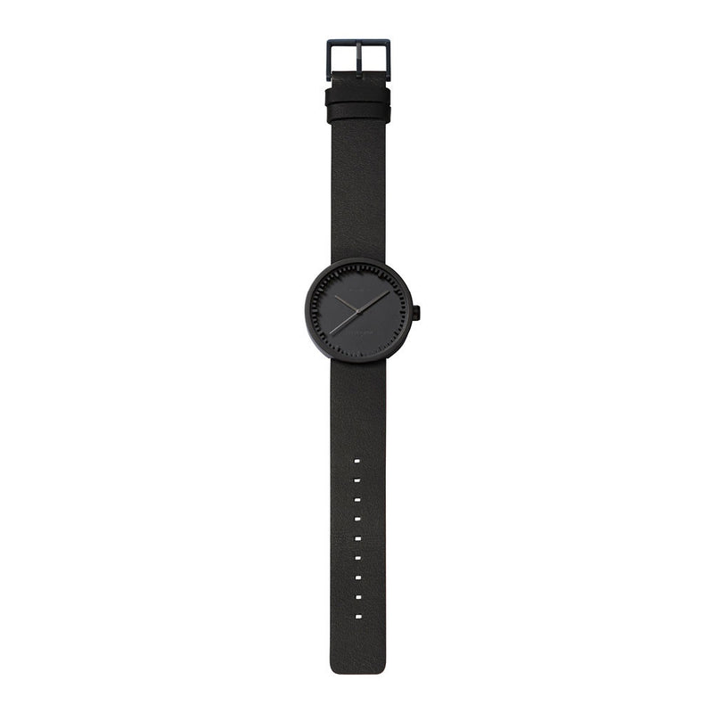 Tube Watch - D38 Black/Black