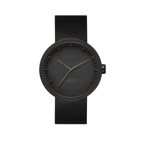 LEFF amsterdam Tube Watch - D42 Black/Black