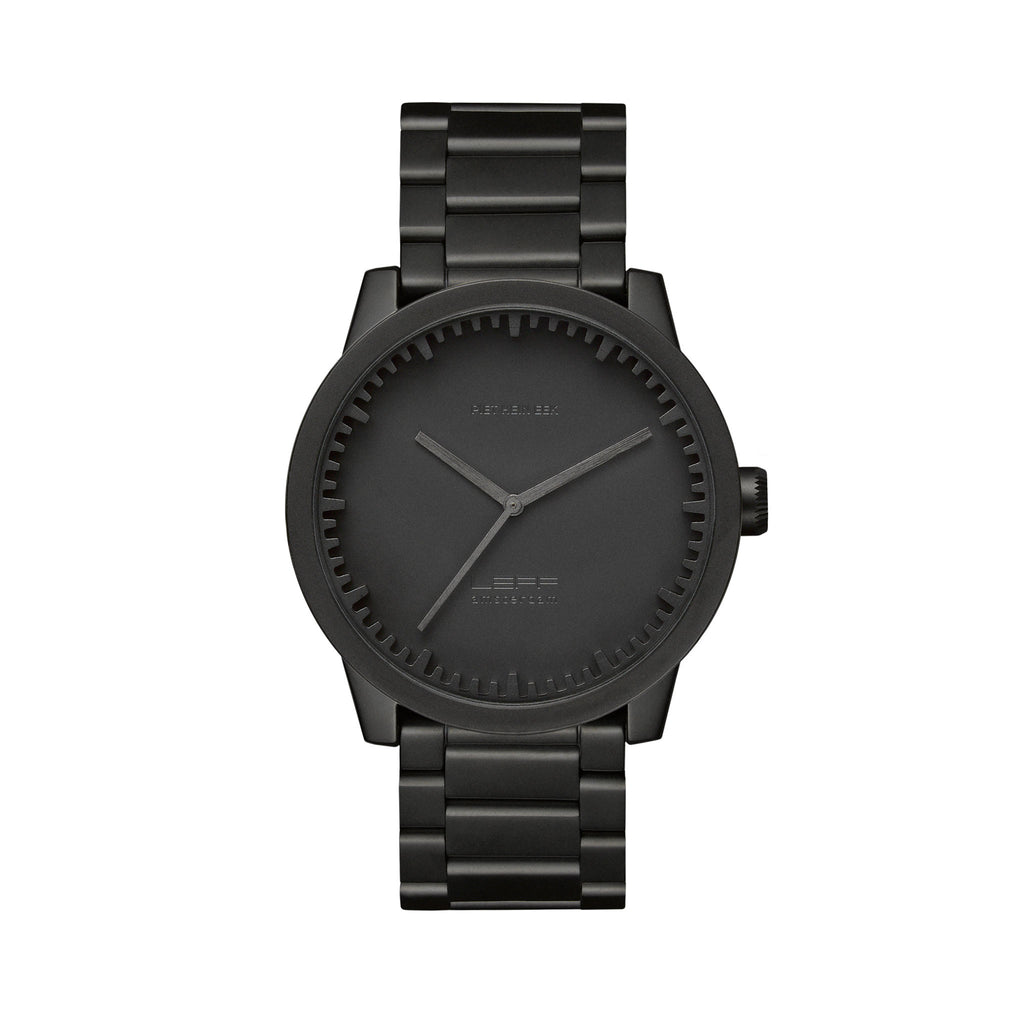 Tube Watch S42 Black Front