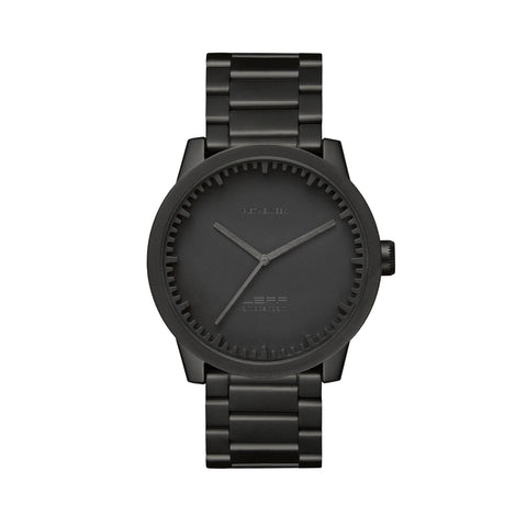 LEFF amsterdam Tube Watch - S42 Matt Black