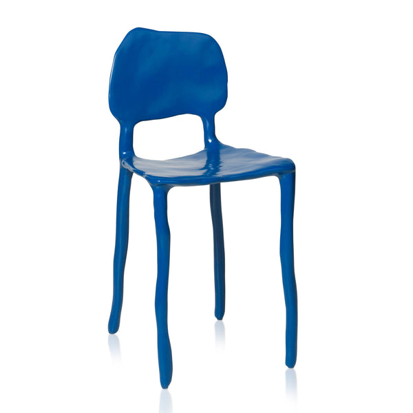 Maarten Baas Clay Dining Chair Blue