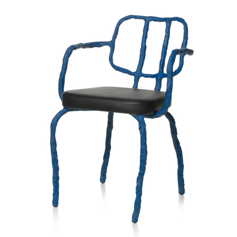 Maarten Baas Plain Clay Dining Chair With Arms