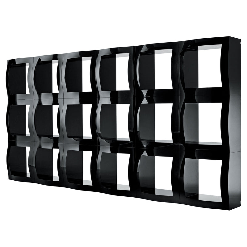 Magis 'Boogie Woogie' Modular Shelving System by Stefano Giovannoni Black