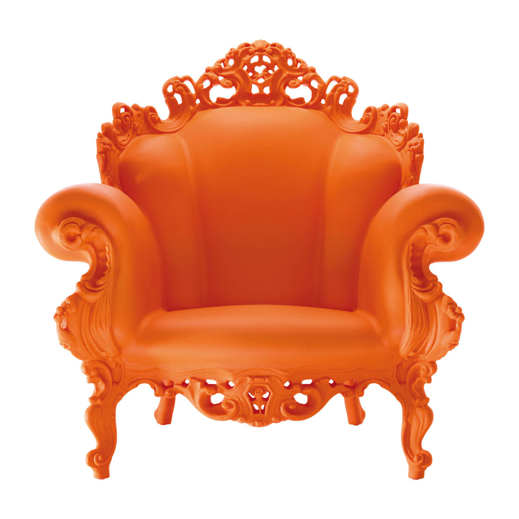 Magis Proust Armchair by Alessandro Mendini Orange