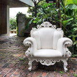 Magis Proust Armchair by Alessandro Mendini White
