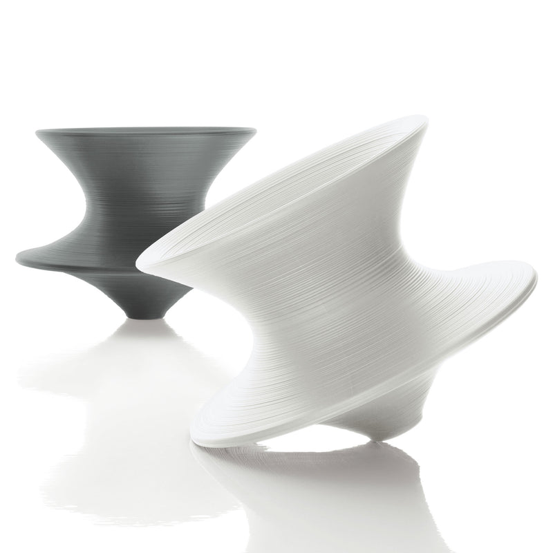 Magis Spun Chair by Thomas Heatherwick Grey & White