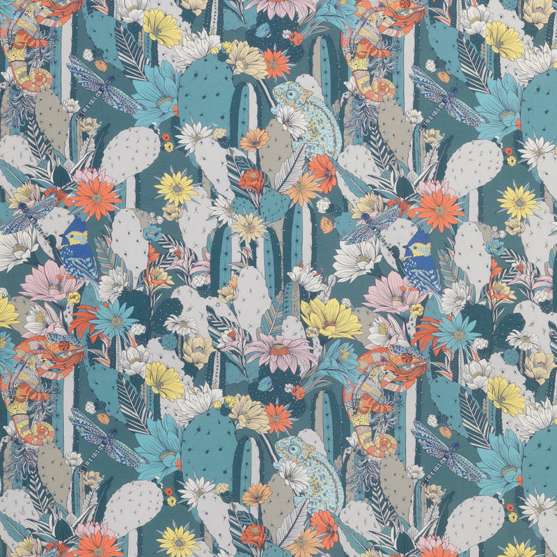 Matthew Williamson 'Cactus Garden' Fabric F7247/01