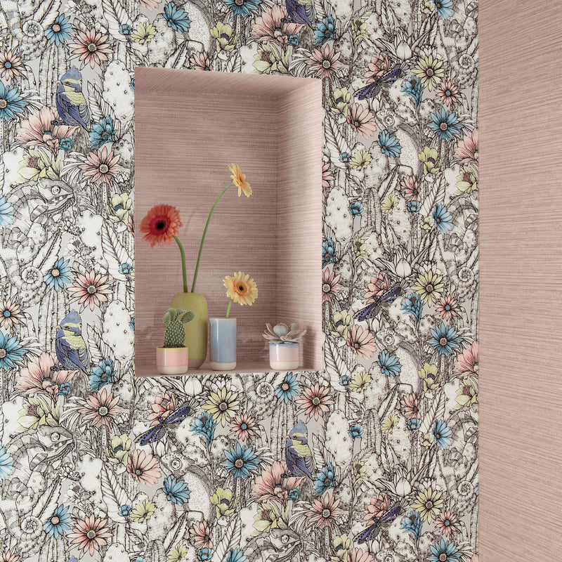 Matthew Williamson Cactus Garden Wallpaper Roomset