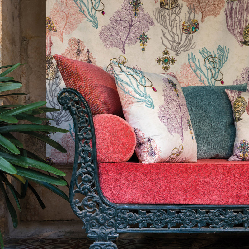 Matthew Williamson 'Coralino' Fabric F7244-01 Still Life