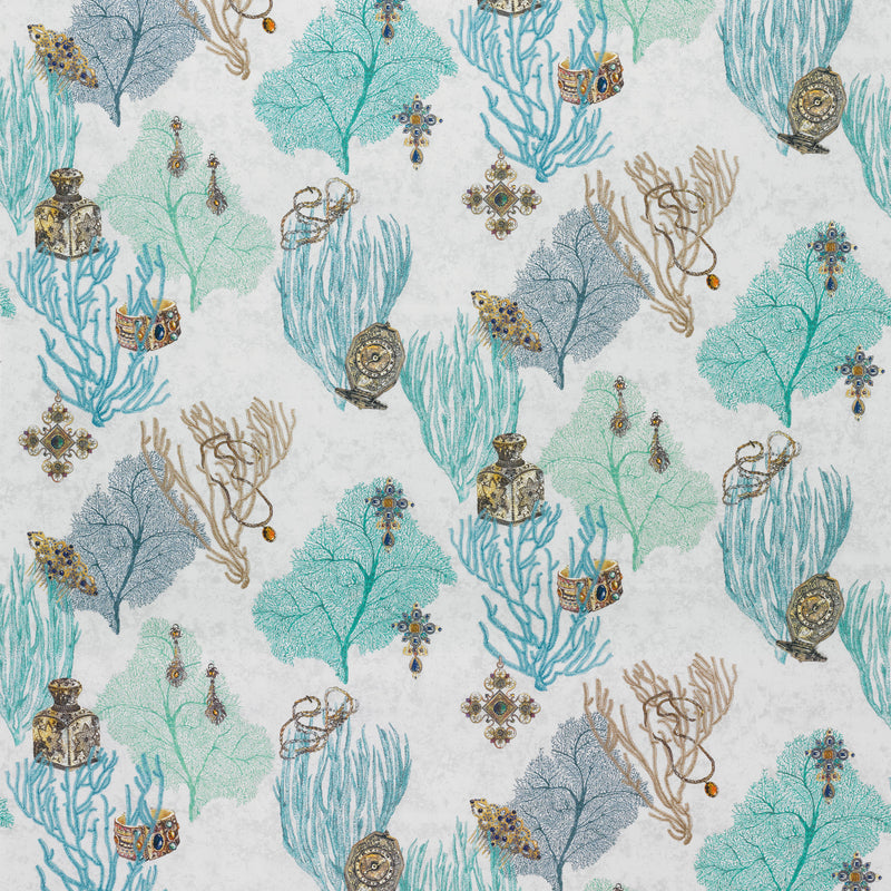 Matthew Williamson 'Coralino' Fabric F7244-02