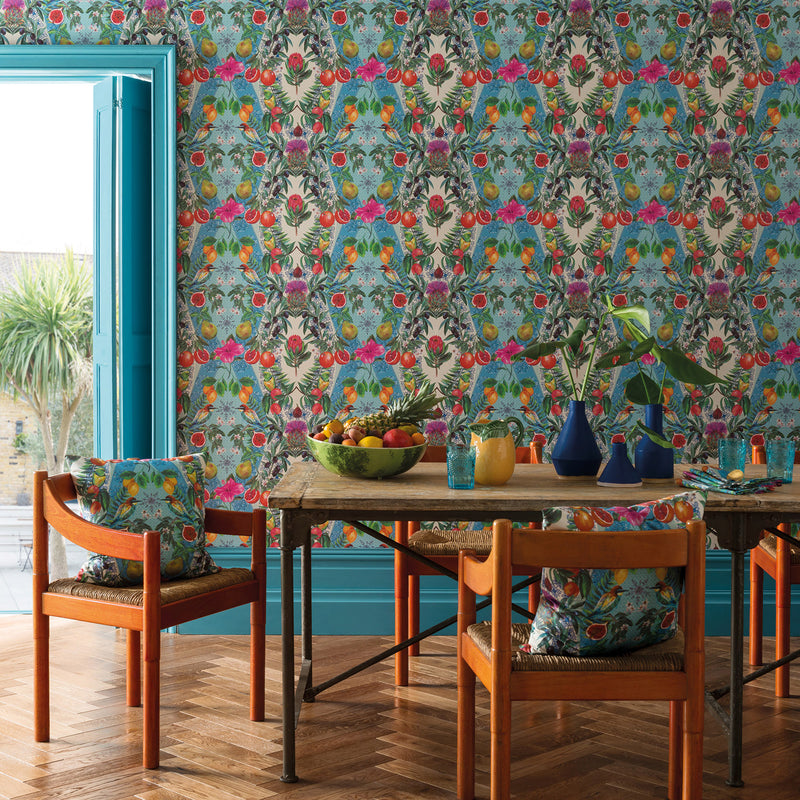 Matthew Williamson Talavera Wallpaper Roomset