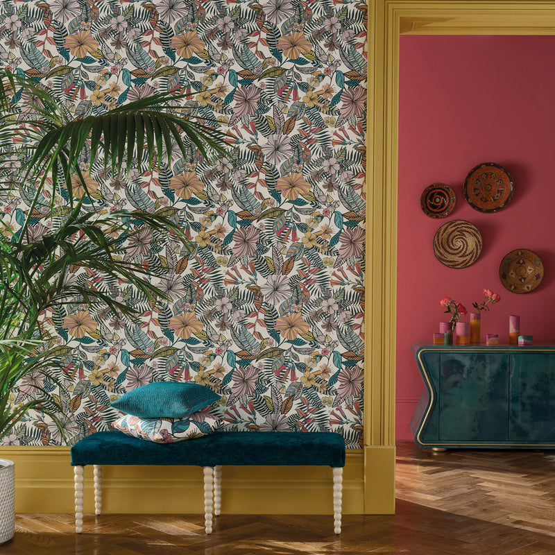 Matthew Williamson Valldemossa Wallpaper Roomset