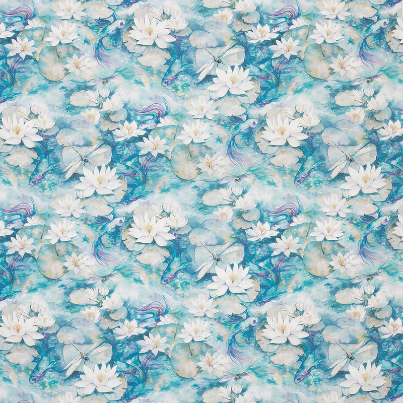Matthew Williamson 'Water Lily' Fabric F7131-01