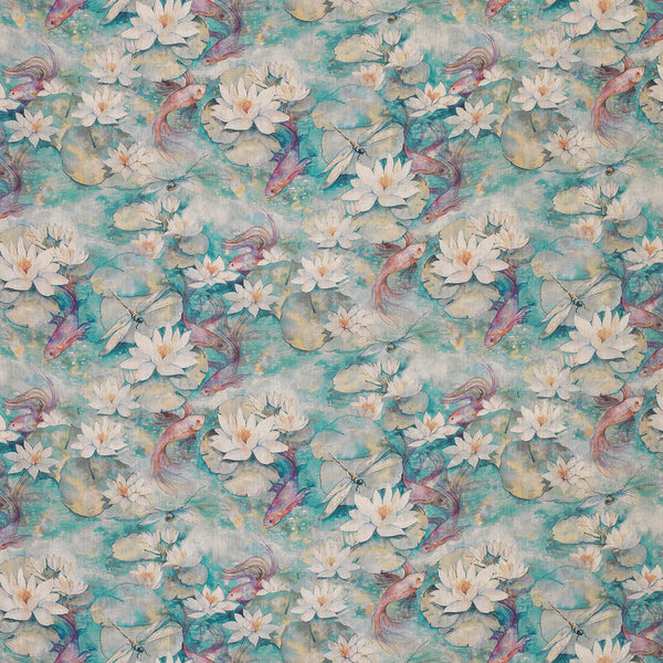 Matthew Williamson 'Water Lily' Fabric F7131-02
