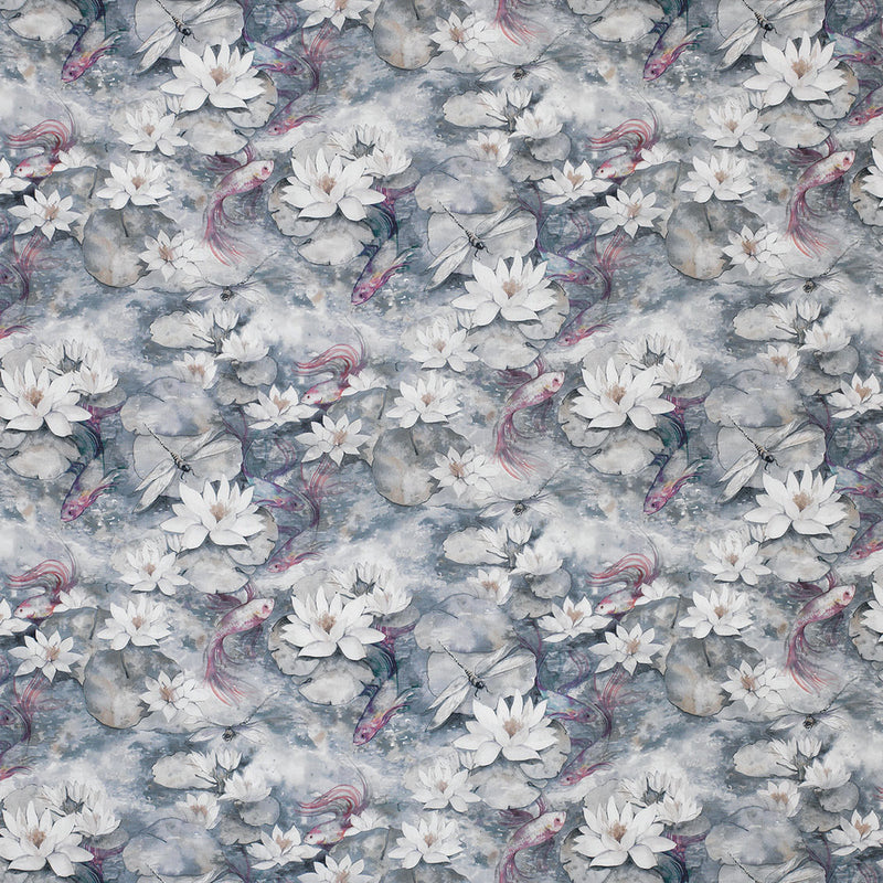 Matthew Williamson 'Water Lily' Fabric F7131-04
