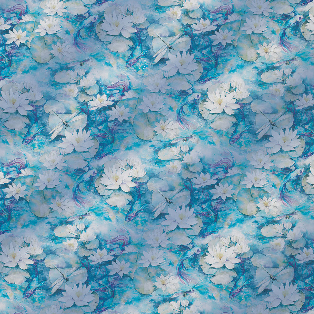Matthew Williamson Water Lily Sheer Fabric Jane Richards