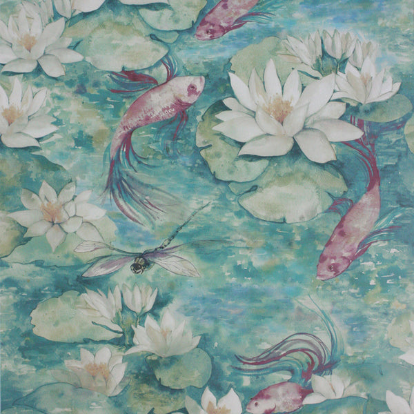 Matthew Williamson 'Water Lily' Wallpaper W7148-02