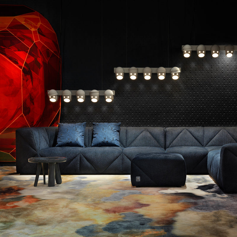 Moooi BFF Modular Sofa by Marcel Wanders Roomset Blue
