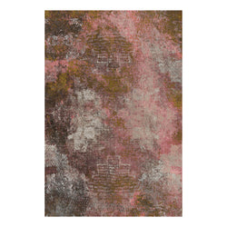 Moooi Carpets 'Erosion Rosegold' Rectangle Rug