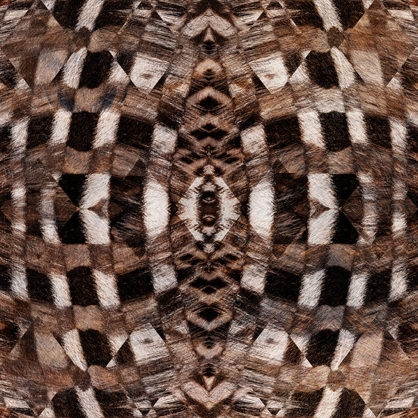 Moooi Carpets Extinct Animals Aristo Quagga Rug Detail