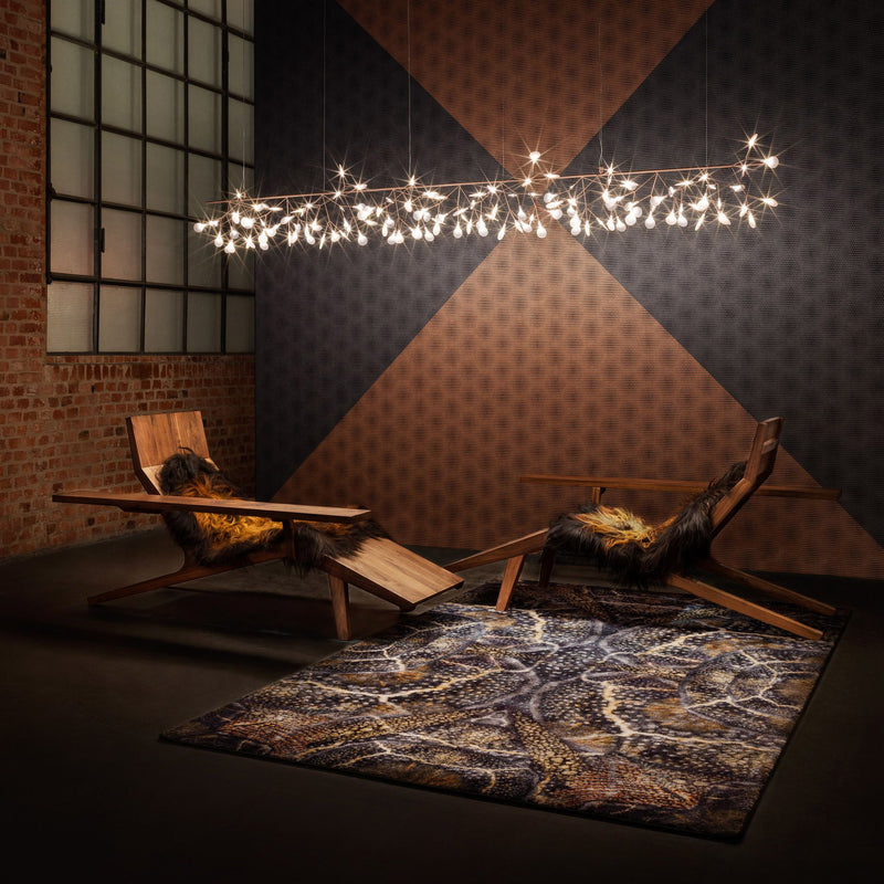 Moooi Carpets Extinct Animals / Blooming Seadragon Rug Roomset