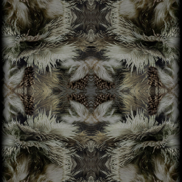 Moooi Carpets Extinct Animals / Blushing Sloth Rug Detail