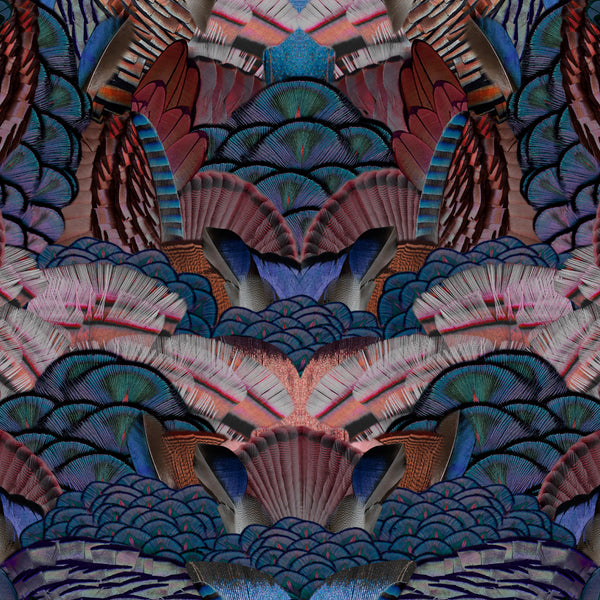 Moooi Carpets Extinct Animals / Calligraphy Bird Rug Detail