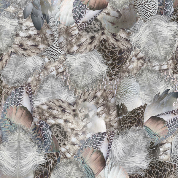 Moooi Carpets Extinct Animals / Dodo Pavone Rug Detail