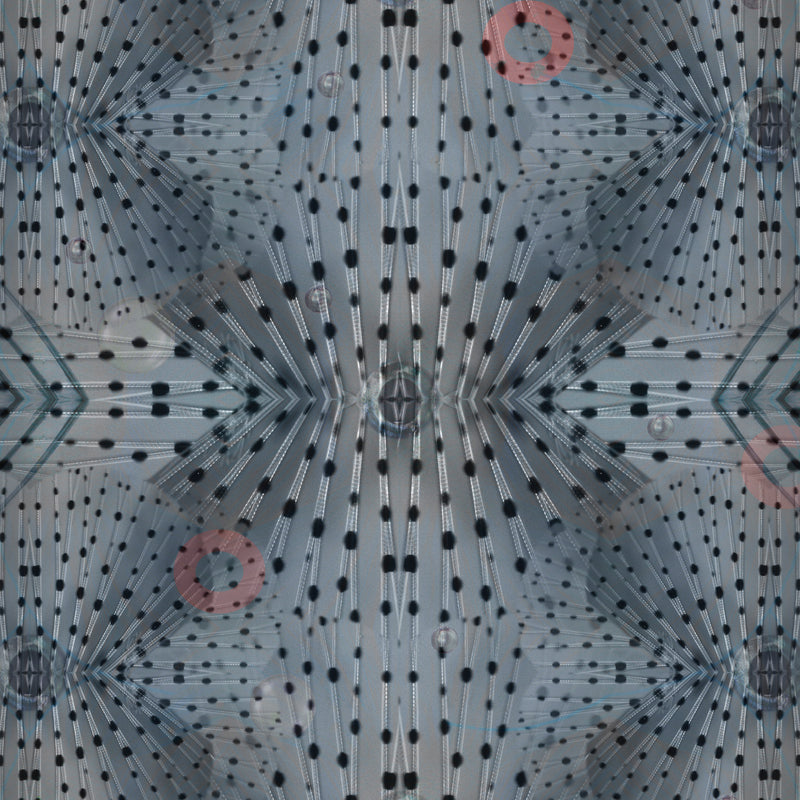 Moooi Carpets Extinct Animals / Flying Coral Fish Rug Detail