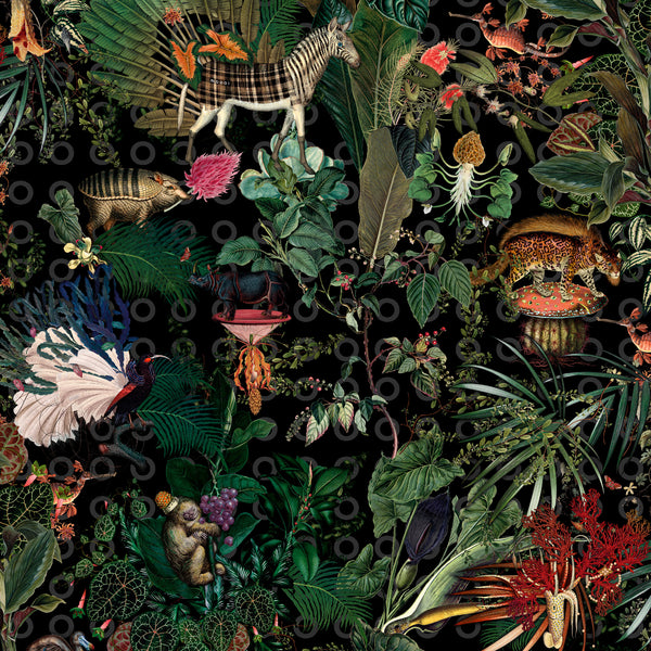 Moooi Carpets Extinct Animals / Menagerie Rectangle Rug 200 x 300cm Detail