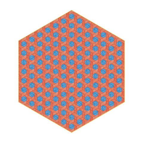 Hexagon Rug by Studio Job