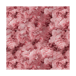 Hortensia Pink Square Rug