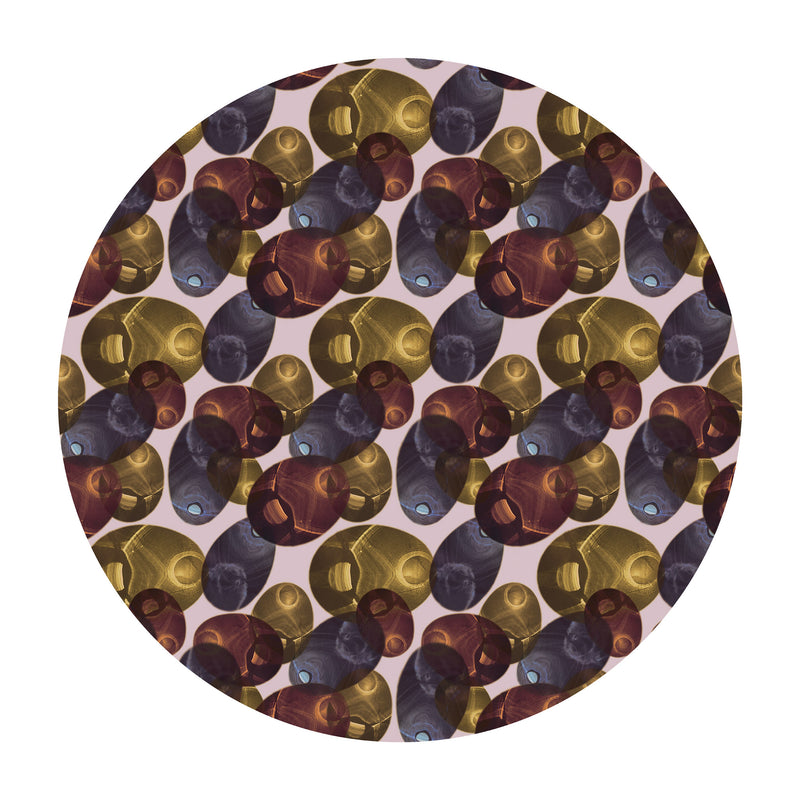 Reflection Round Rug - Autumn