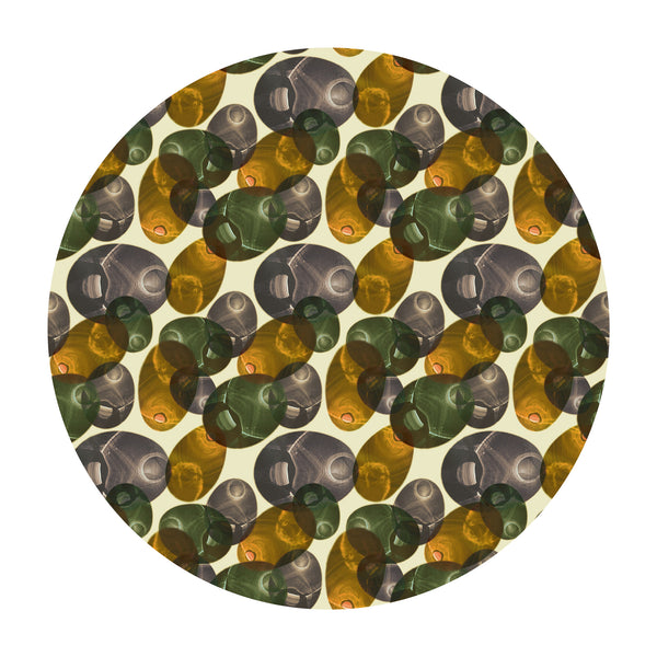 Moooi Carpets Reflection Round Rug - Spring by Luca Nichetto