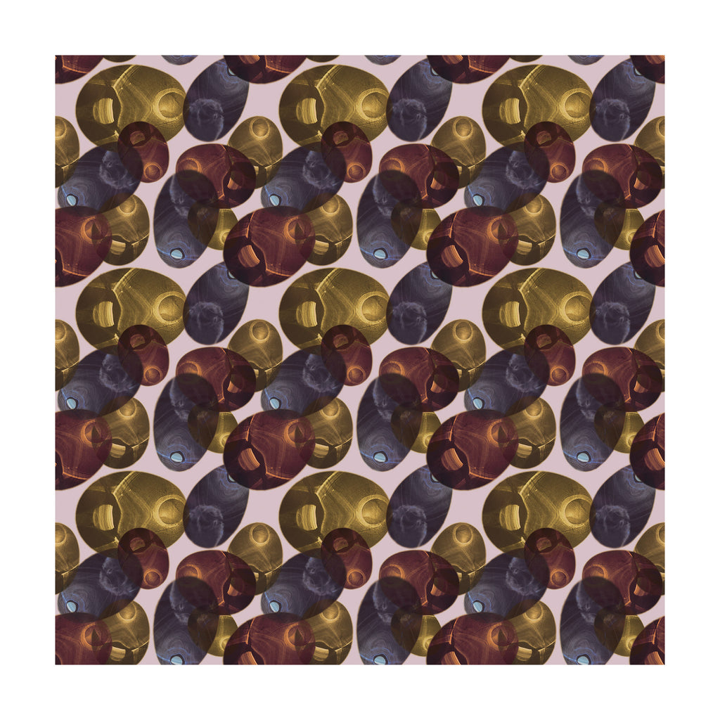 Reflection Square Rug - Autumn