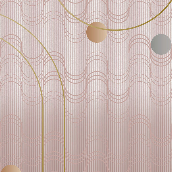 Moooi Carpets Swell Rose Quartz Rug by Mae Engelgeer Detail