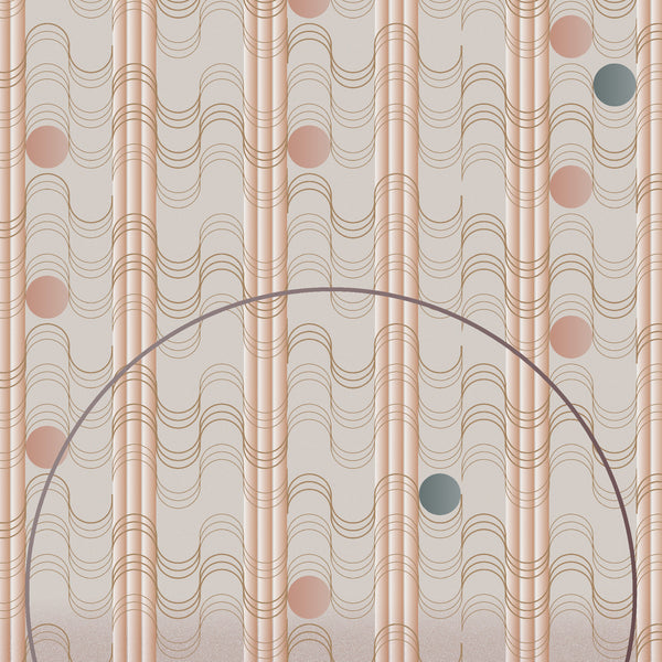 Moooi Carpets Swell Sunstone Rug by Mae Engelgeer Detail