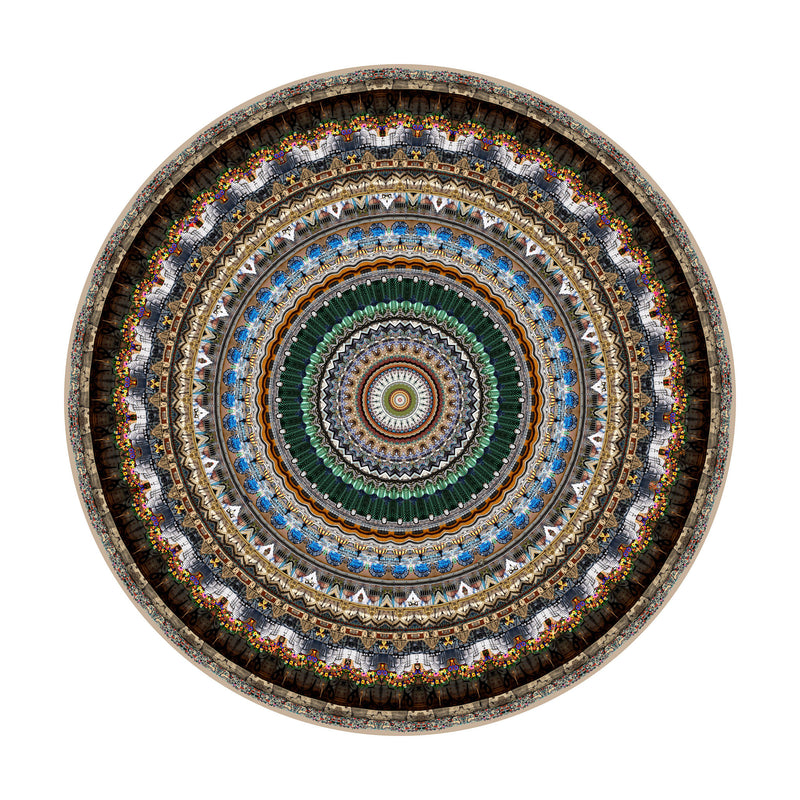Moooi Carpets Urban Mandalas / Mexico City February 2016 Rug