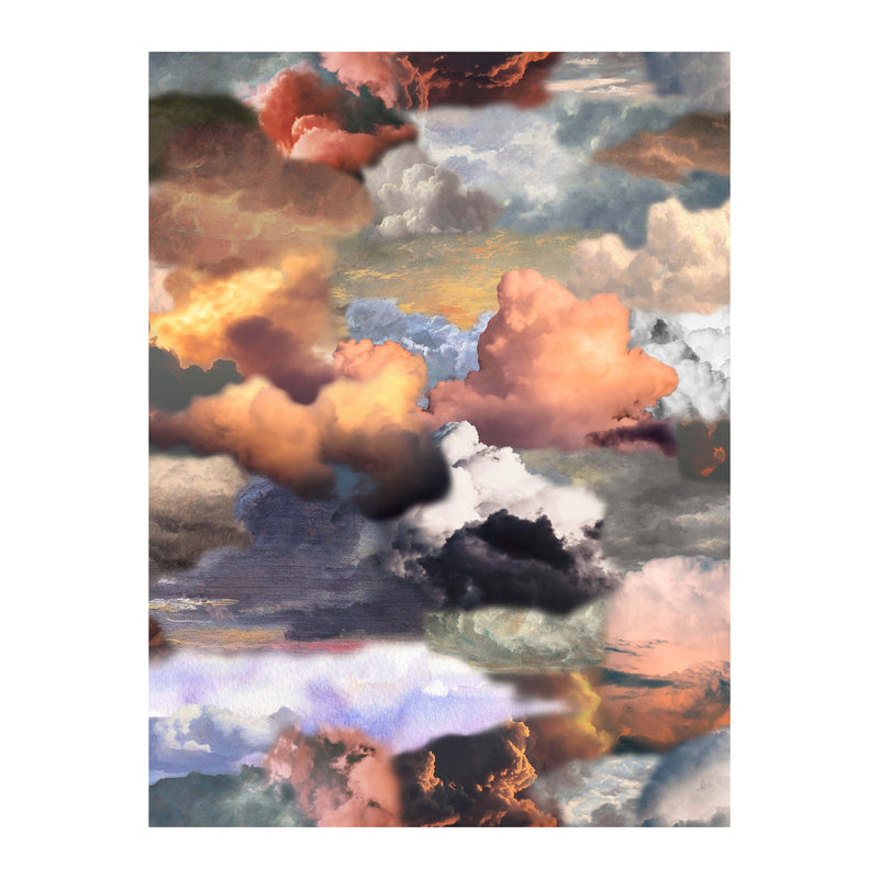 Moooi Carpets Walking on Clouds Rectangular Rug - Dawn by Front 300 x 400