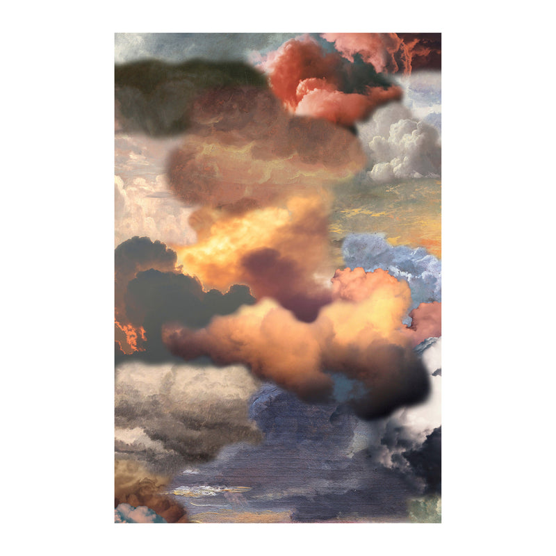 Moooi Carpets Walking on Clouds Rectangular Rug - Dusk by Front 200 x 300