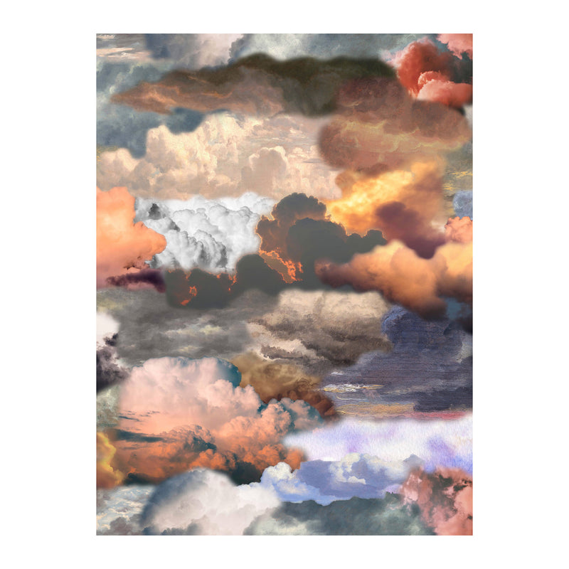 Moooi Carpets Walking on Clouds Rectangular Rug - Dusk by Front 300 x 400