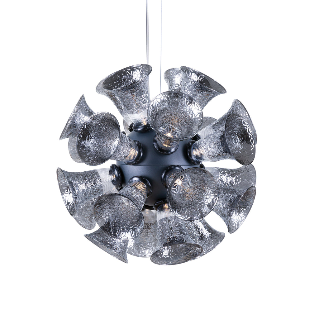 Moooi Chalice 24 Suspension Lamp by Edward van Vliet - Metallic Grey