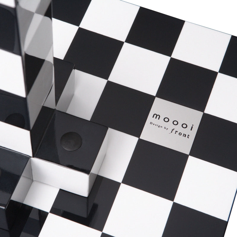 Moooi Chess Table by Front Detail