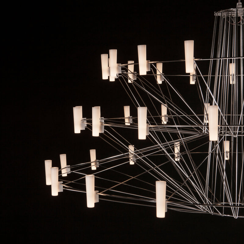 Moooi Coppelia Suspension Lamp Detail Black Background