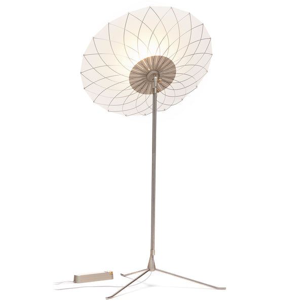 Moooi 'Filigree' Floor Lamp by Rick Tegelaar Angle Up