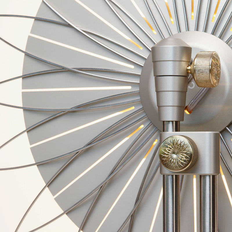 Moooi 'Filigree' Floor Lamp by Rick Tegelaar Back Detail