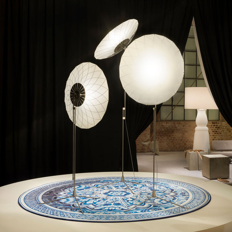 Moooi 'Filigree' Floor Lamp by Rick Tegelaar Roomset
