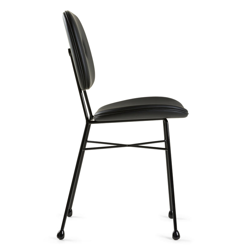 Moooi Golden Chair - Black by Nika Zupanc Side View