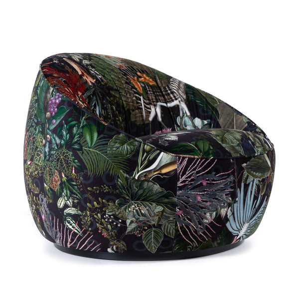 Moooi Hana Low Back Armchair Menagerie Front Side
