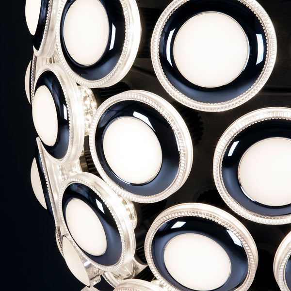 Moooi Iconic Eyes 161 Pendant Light Detail Lights On